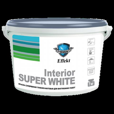 Краска «Interior» супербелая глубоко-матовая для внутренних работ